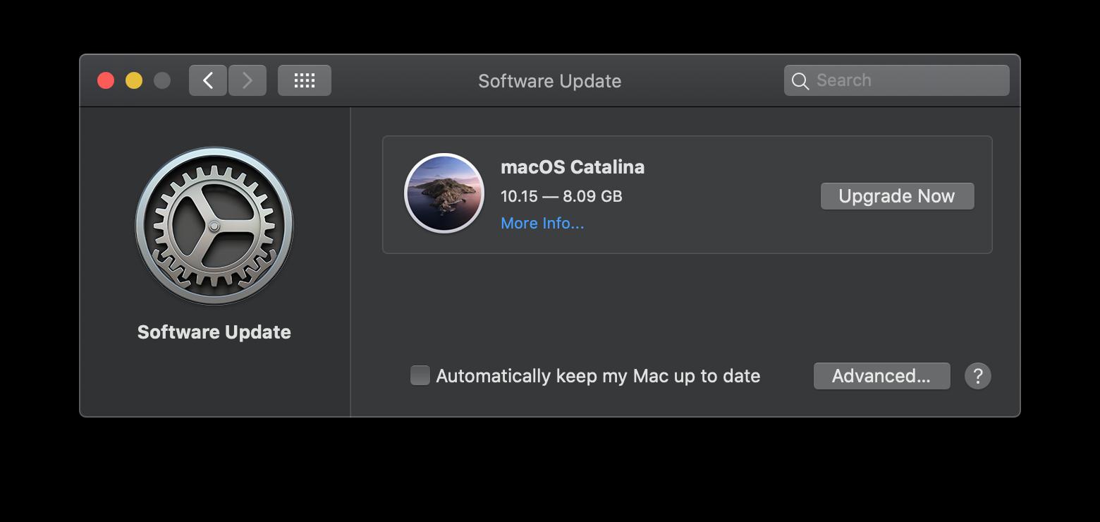 Update Mac