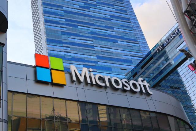 Microsoft building in California