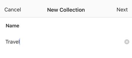 某人的instagram設置以查找保存的帖子
