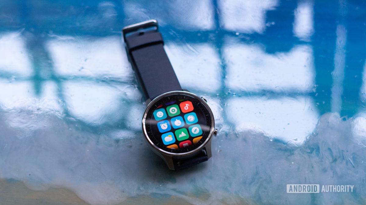 Mi Watch Revolve app drawer profile