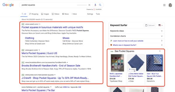 Google விளம்பரங்களின் வகைகள் தேடல் விளம்பர பிரச்சாரங்கள்
