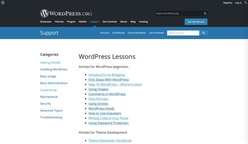 WordPress-Lessons
