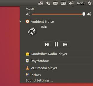 Ambient Noise Ubuntu