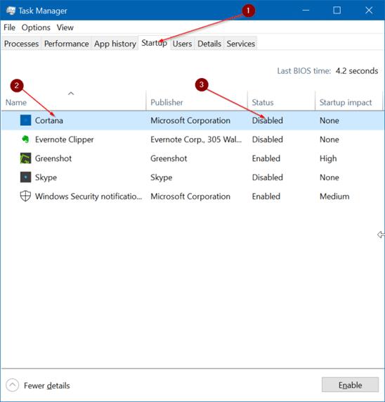 cannot close Cortana sign in window5