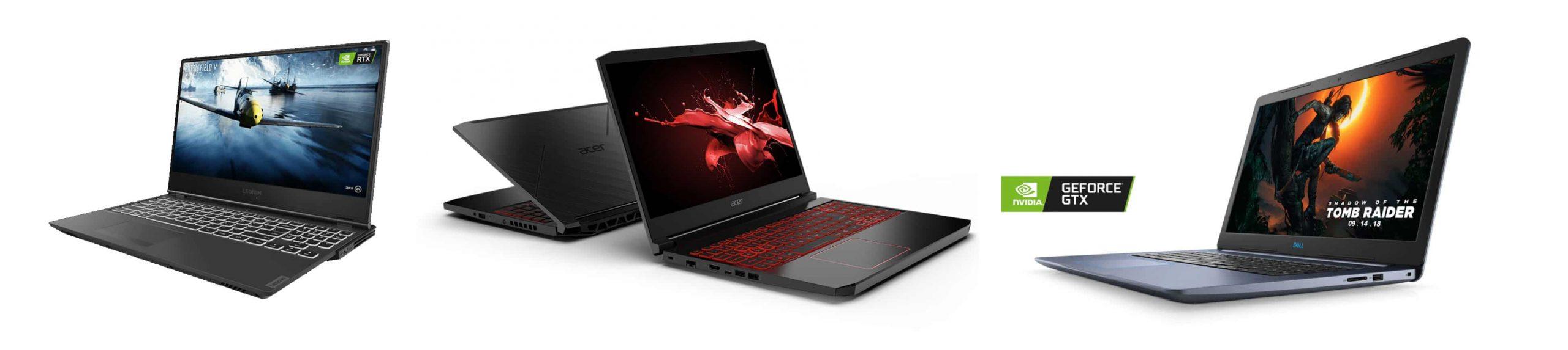 Gaming laptops under $1000: Lenovo Legion Y540, Acer Nitro 5 or Dell G3 Gaming