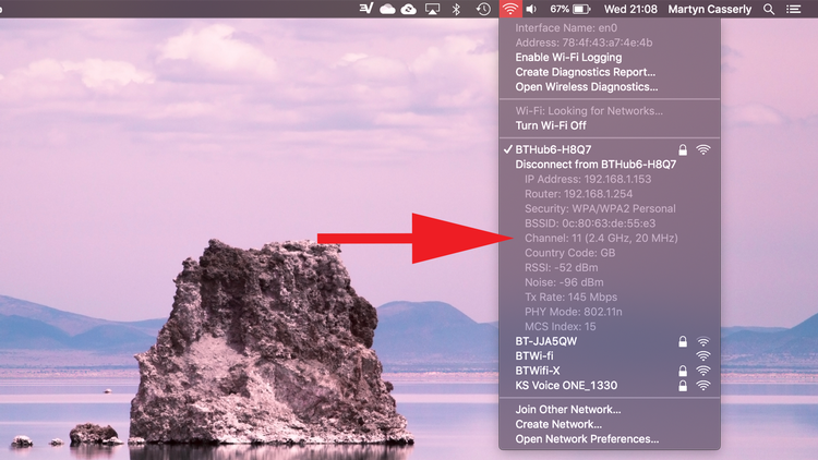 How to switch to 5GHz on Mac: Wi-Fi Channel
