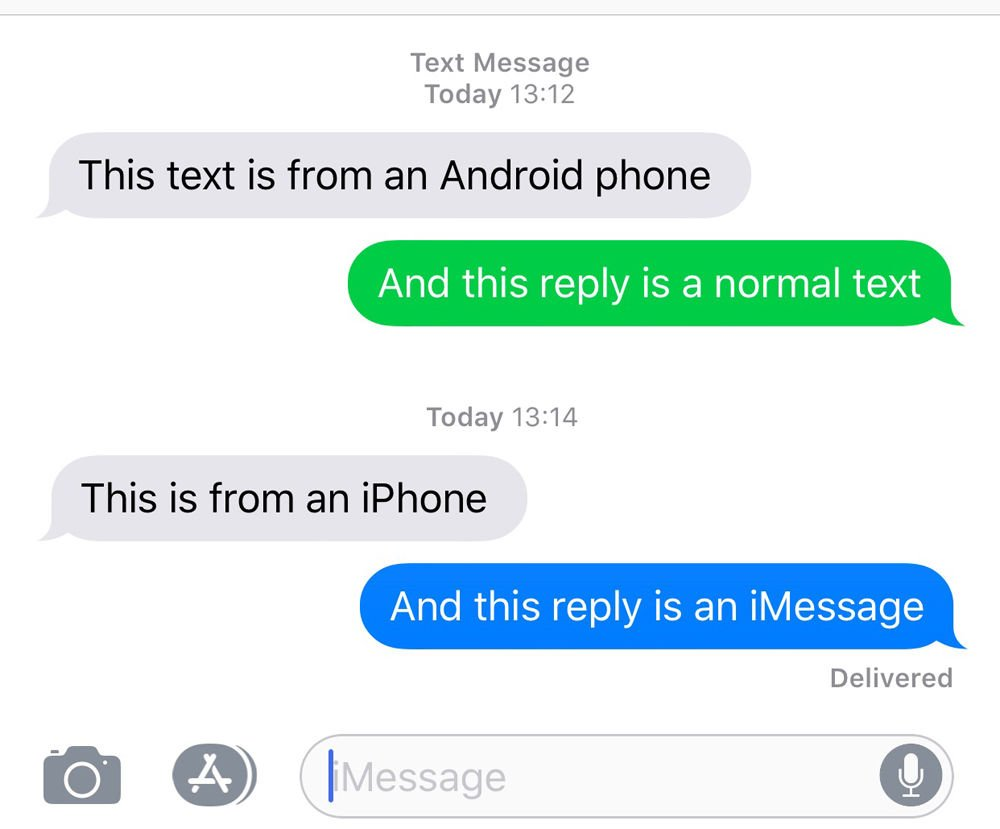 How to send a text on an iPhone: Difference between iMessage and text