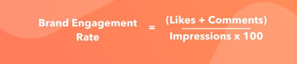 計算品牌instagram參與率的公式