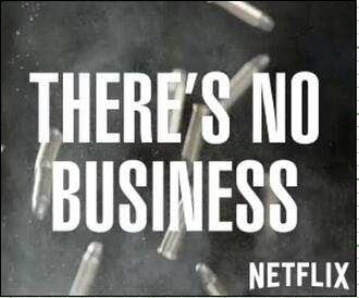 Narcos rich media ad from Netflix.