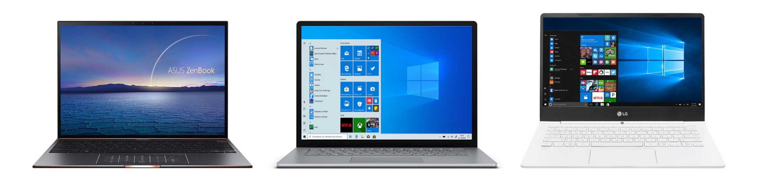 Soem of the other premium options: Asus ZenBook S13, MS Surface Laptop and LG Gram