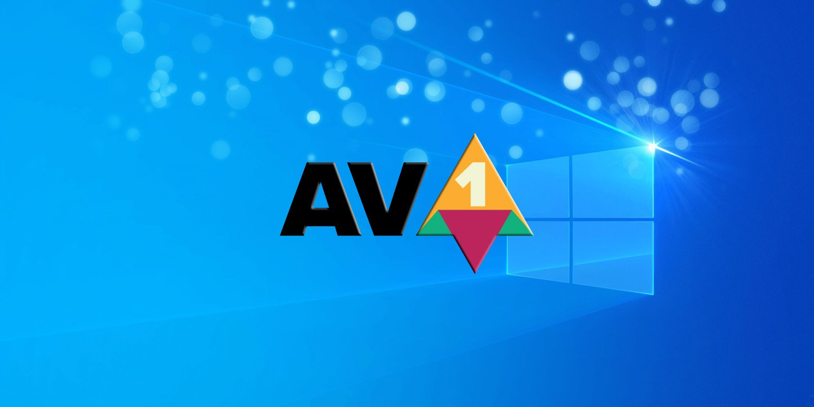 Windows 10 AV1