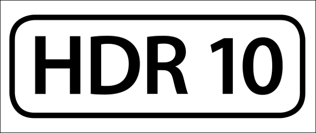 The HDR10 logo.