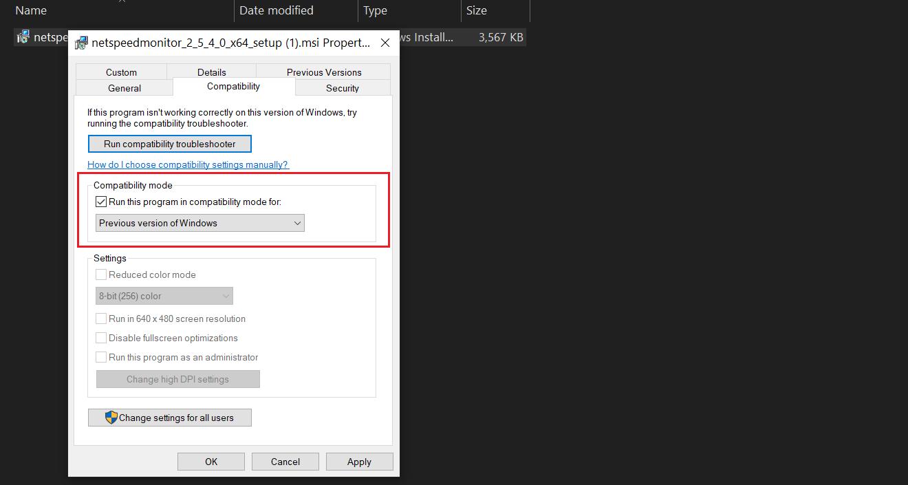 Show Internet Speed on Windows 10 Taskbar