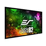 Image of Elite Screens SB100WH2 100-Inch 3D 4K/8K Ultra HD Fixed Frame Home Theatre Projector Screen Kit - CineWhite