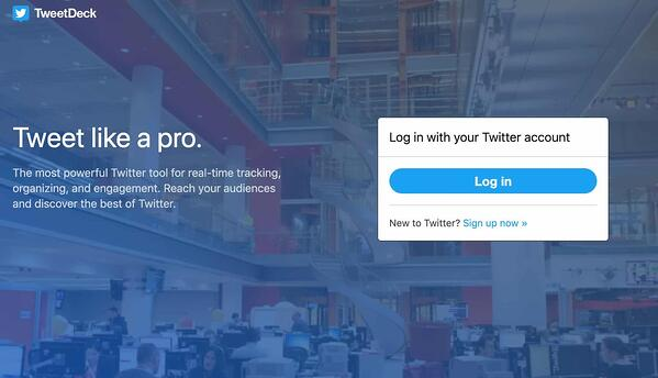 tweetdeck free social media management tool