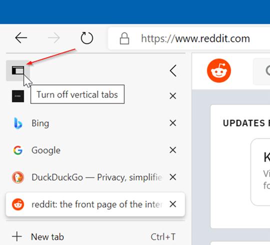 Microsoft Edge vertical tabs pic5