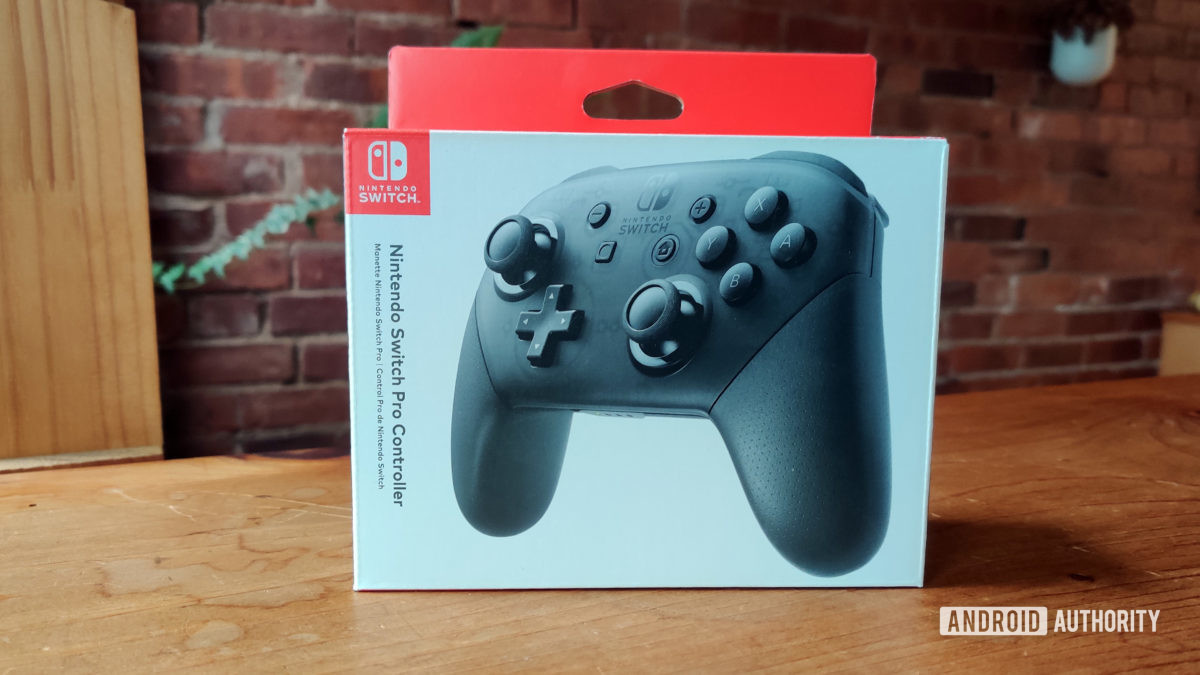 Nintendo Switch Pro Controller review box