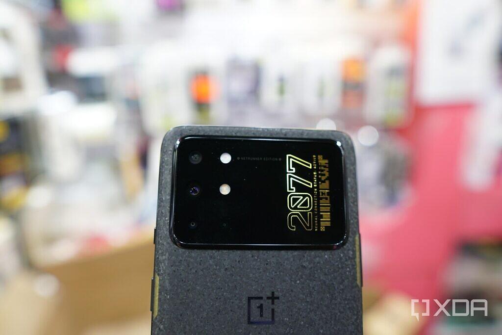 OnePlus 8T Cyberpunk 2077 Edition's camera module