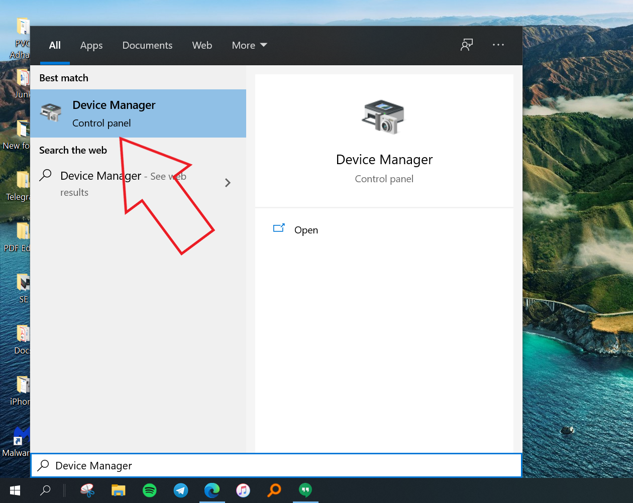 Ways to Open the Device Manager on Windows 10