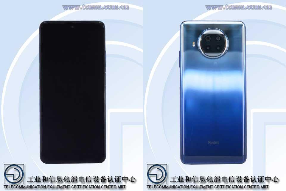 Redmi Note 9 5G High Edition M2007J17C TENAA