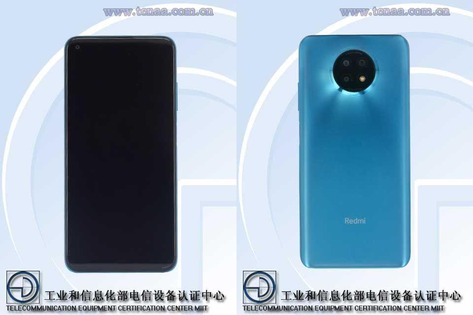 Redmi Note 9 5G Standard Edition M2007J22C TENAA