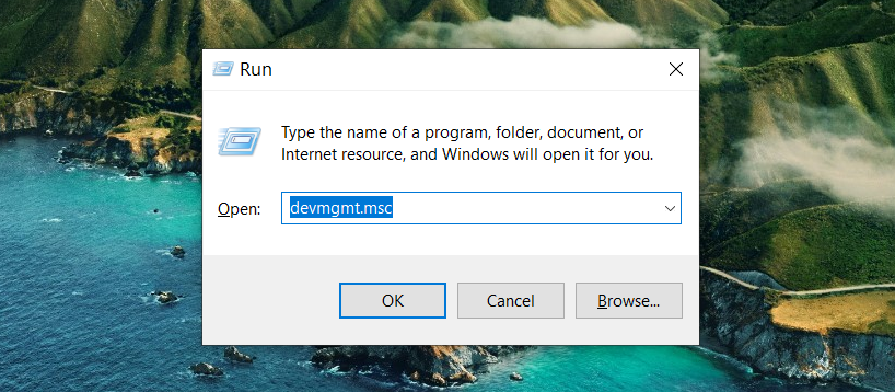 How to Open Device Manager on Windows 10