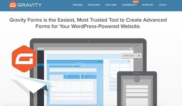 gravity forms lead generation wordpress plugin