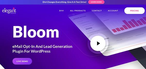 bloom lead generation wordpress plugin