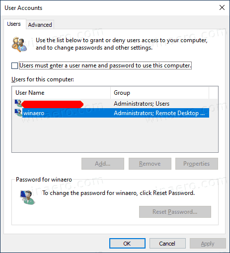 Windows 10 Version 2004 Sign In Automatically