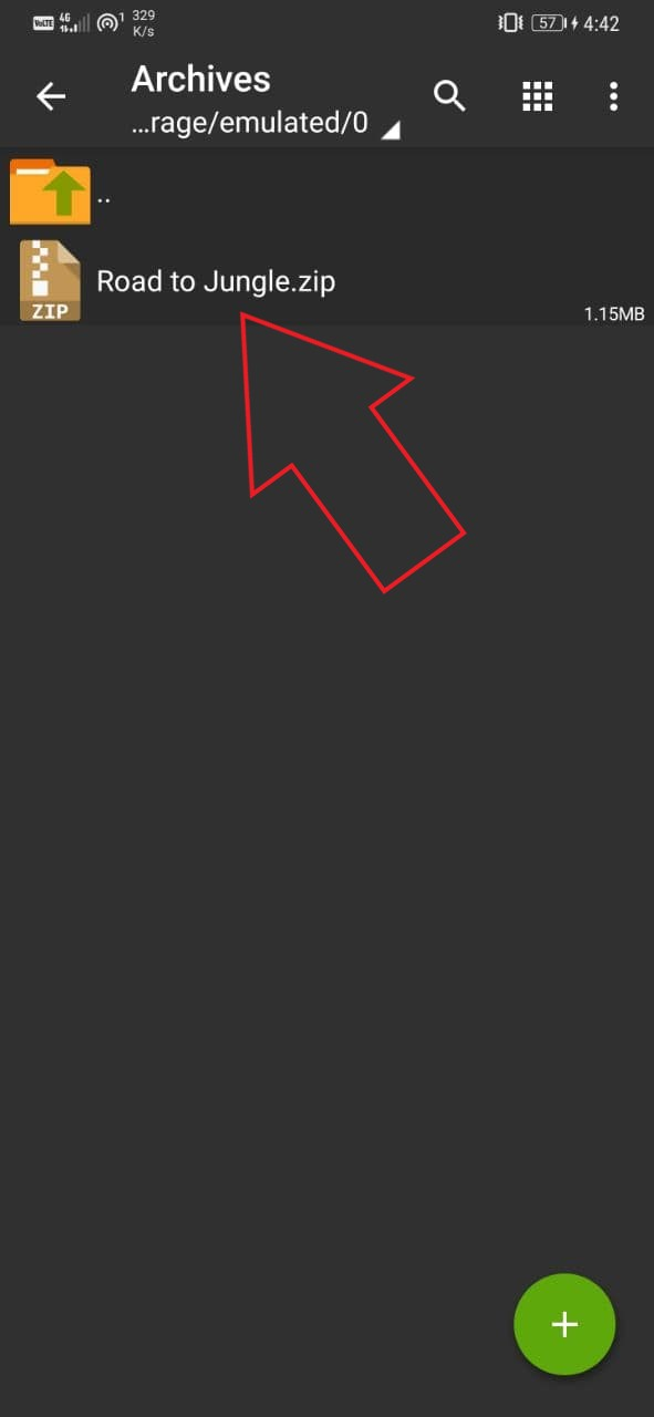Open RAR on Android