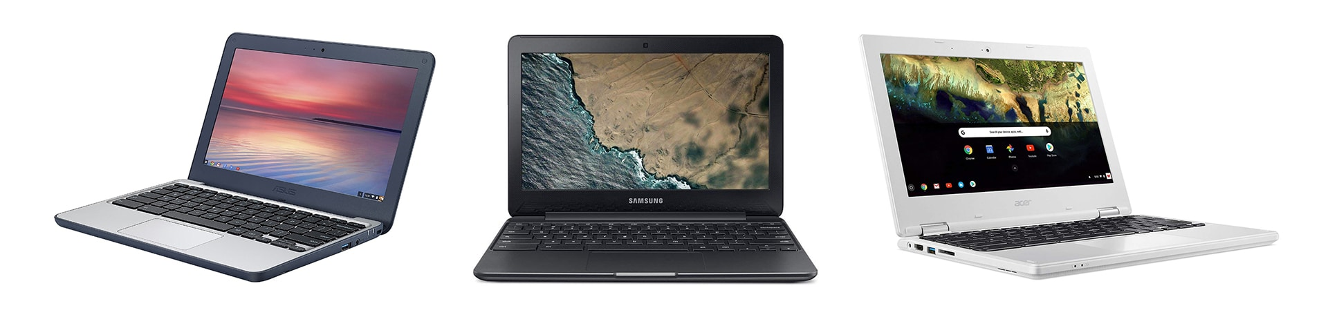Some of the affordable Chromebooks