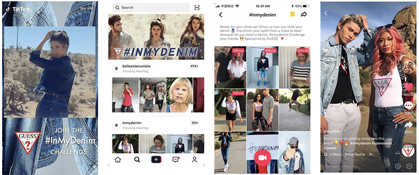 guess jeans brand takeover ad formats