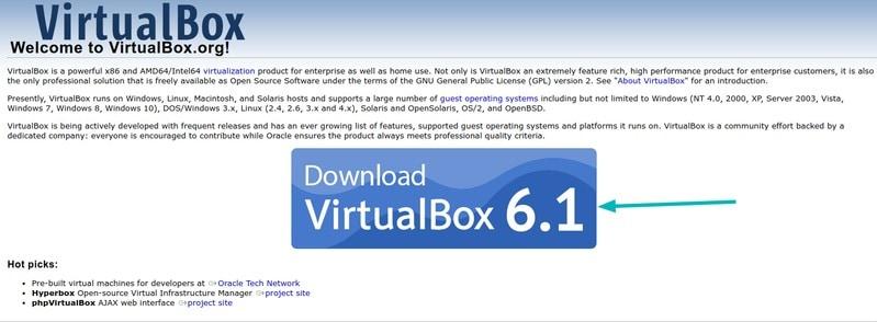 Download Virtulabox