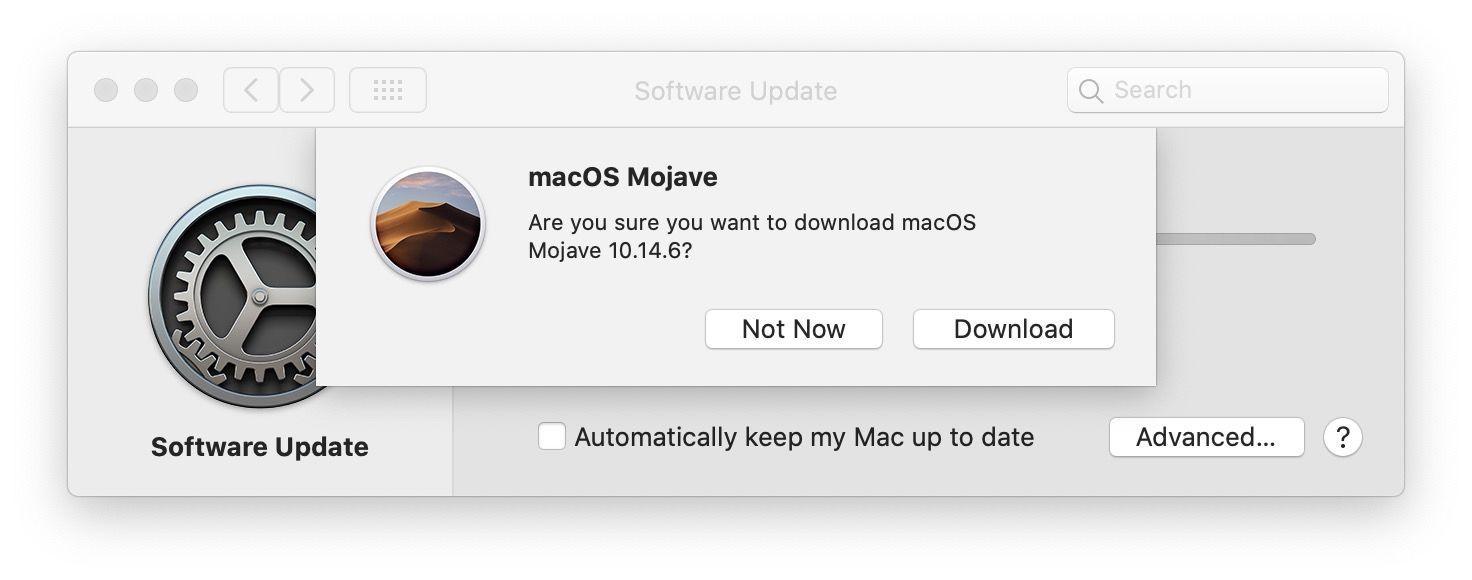 Download Mojave installer