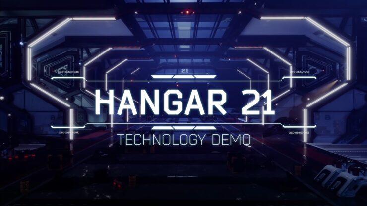 Hangar 21 Technology Demo