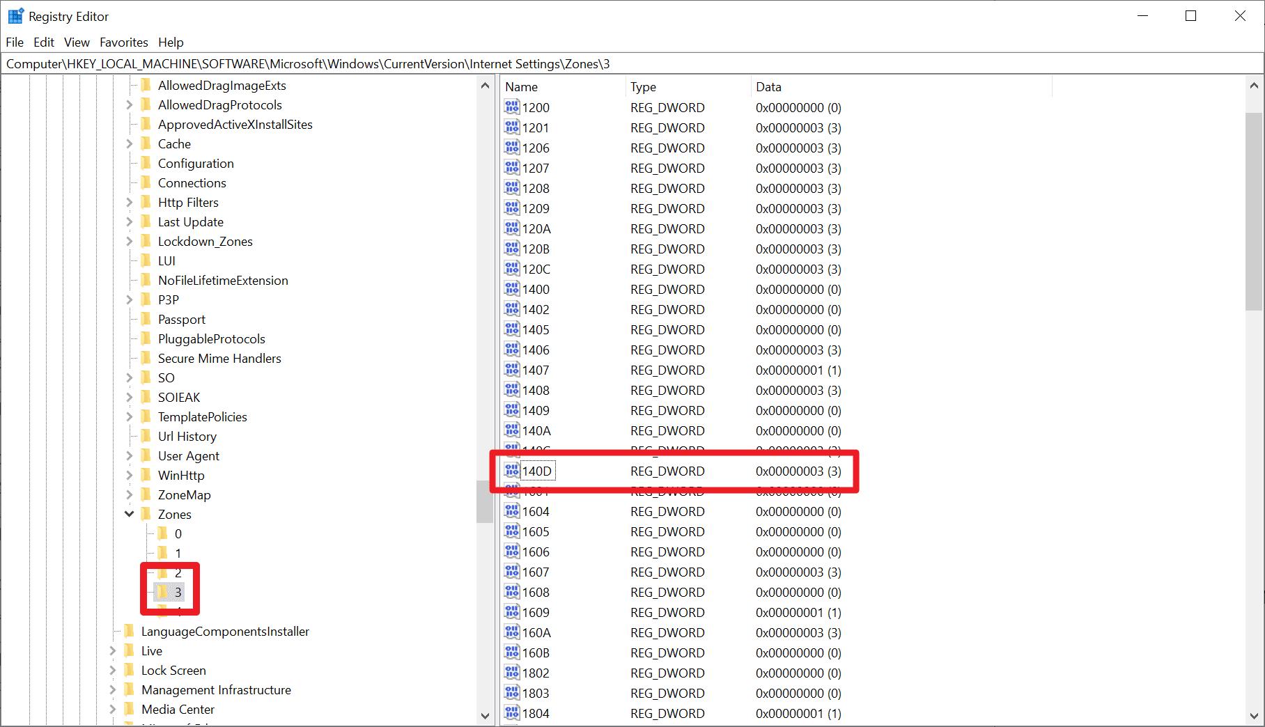 internet explorer disable jscript