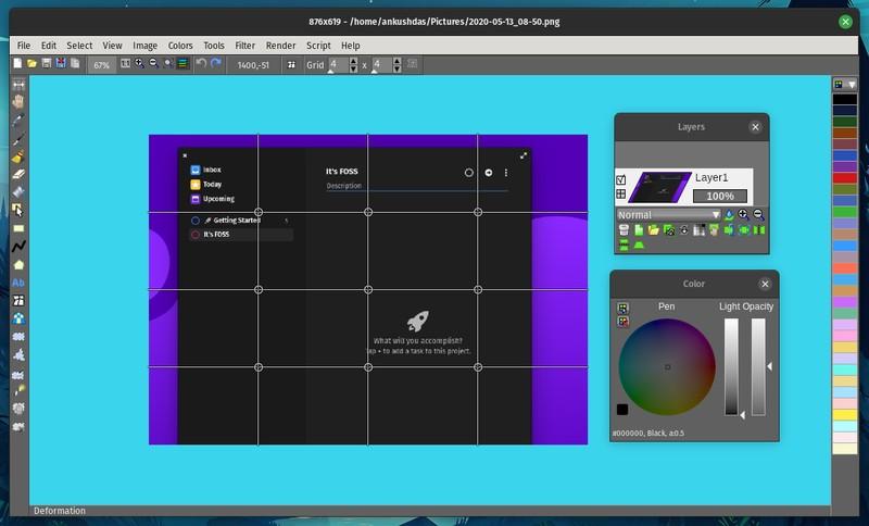 Lazpaint Screenshot