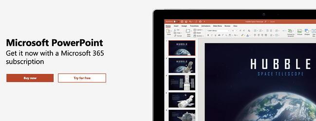 microsoft-365-presentation-軟件