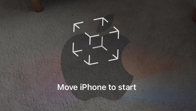 AR Logo Apple Event