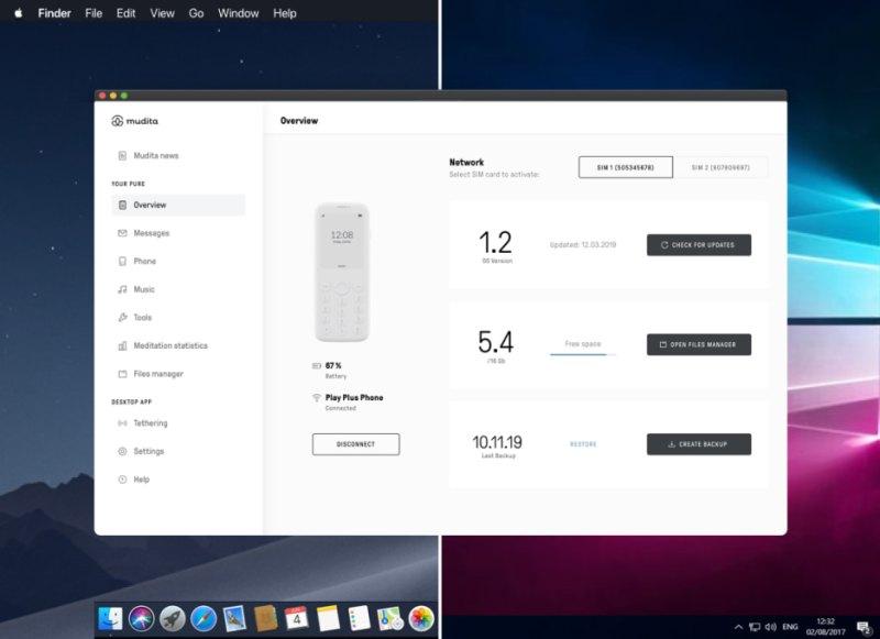 Muditaos Desktop App