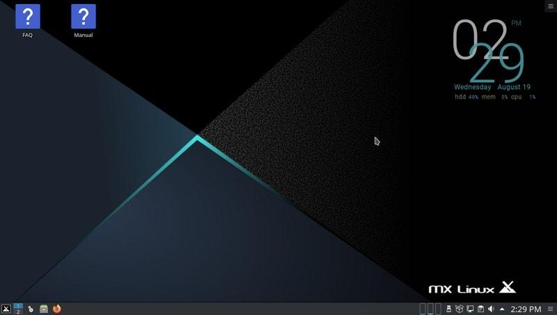 Mx Linux 19 2 Kde