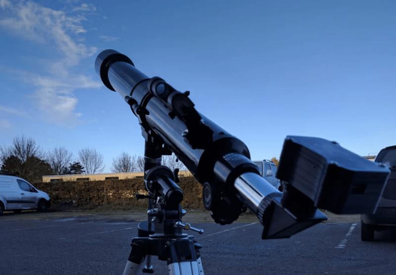 Pi Telescope Camera