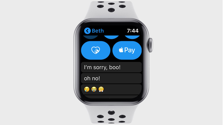 watchOS 7 release date and new features: Concept Messages App