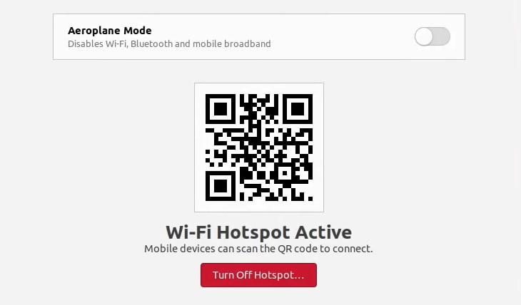 Wifi Hotspot Qr Code