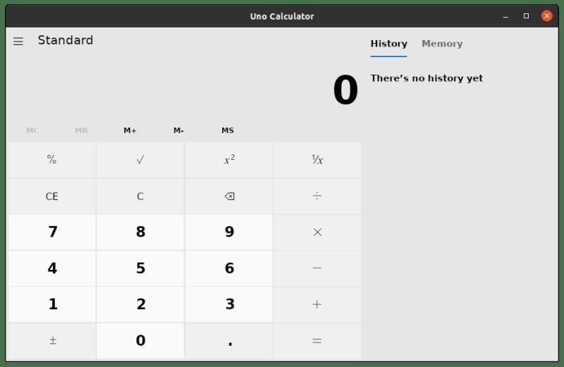 Windows Calculator Ubuntu