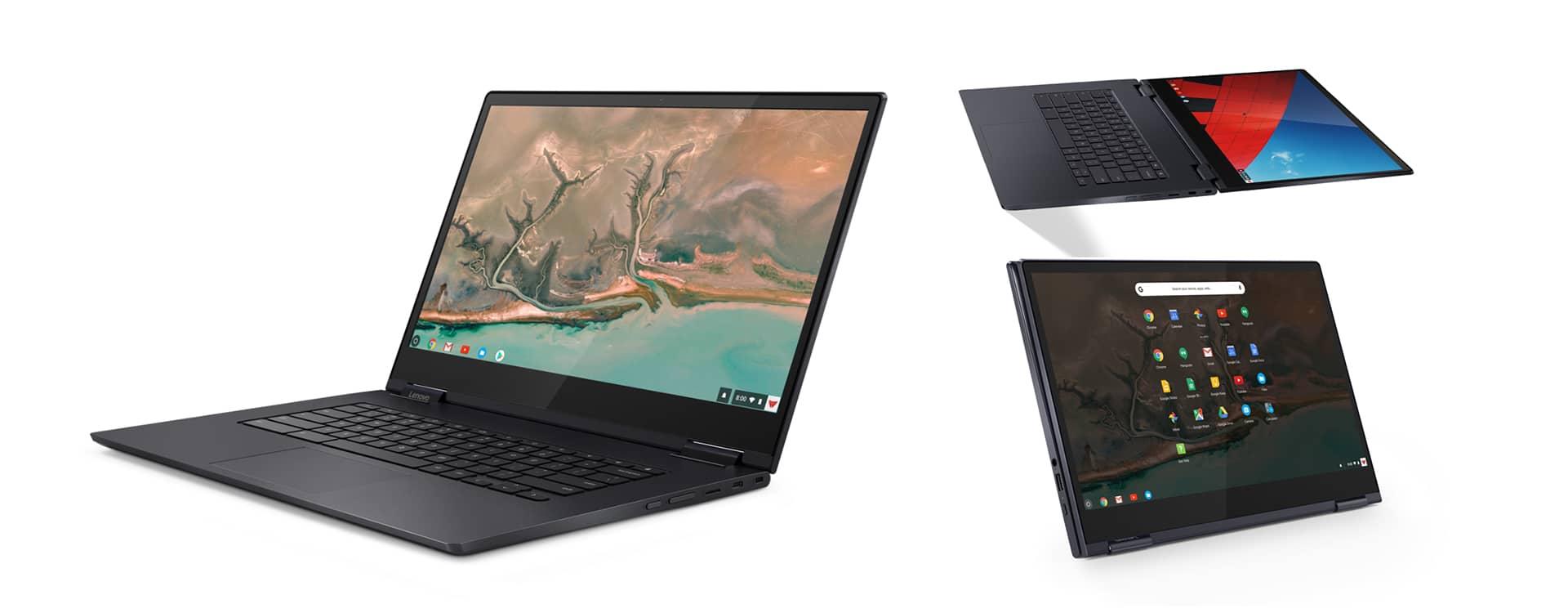 The 15-inch Yoga Chromebook