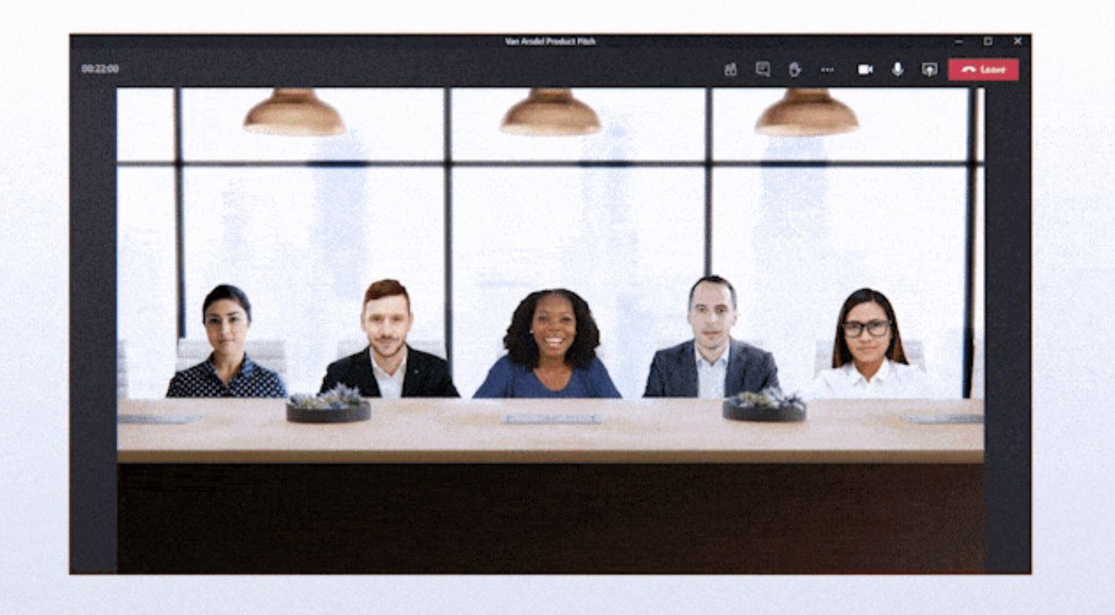 Microsoft Teams Together Mode