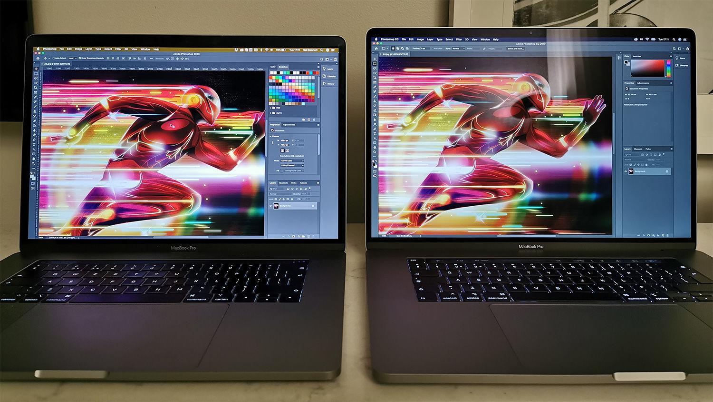 新舊MacBook Pro