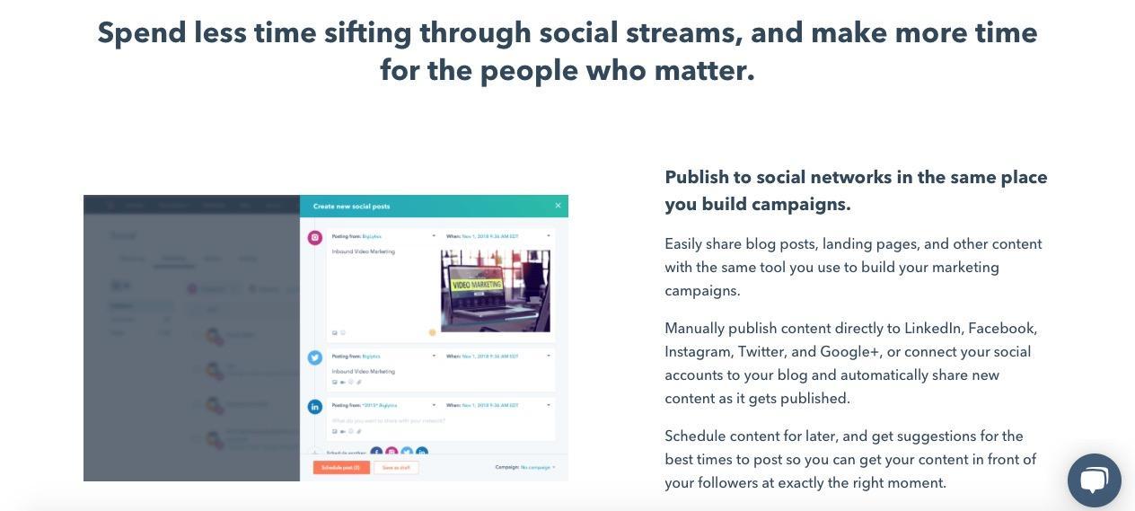 top social media tools hubspot social inbox