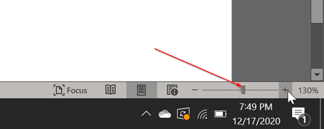 Fix Office Word shows two pages side by side pic4